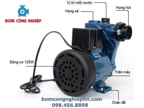 Cấu tạo máy bơm nước Panasonic gp-129jxk