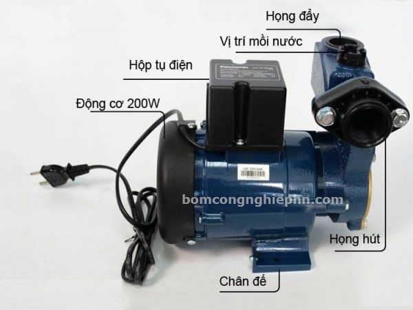 Cấu tạo máy bơm nước panasonic GP-200 JXK