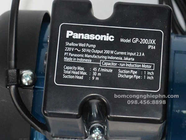 Sức đẩy cao máy panasonic GP-200JXK