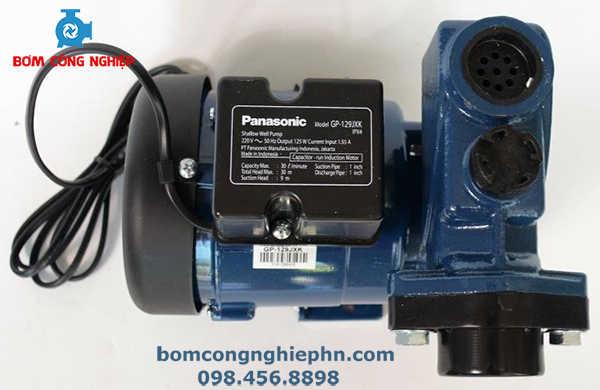 Thân máy bơm panasonic gp-129jxk làm bằng nhôm tản nhiệt
